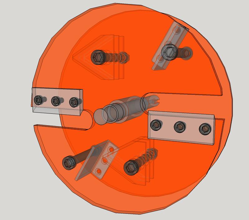 Début de Conception pour la Fabrication d'un Broyeur de Végétaux Rotor1_xray