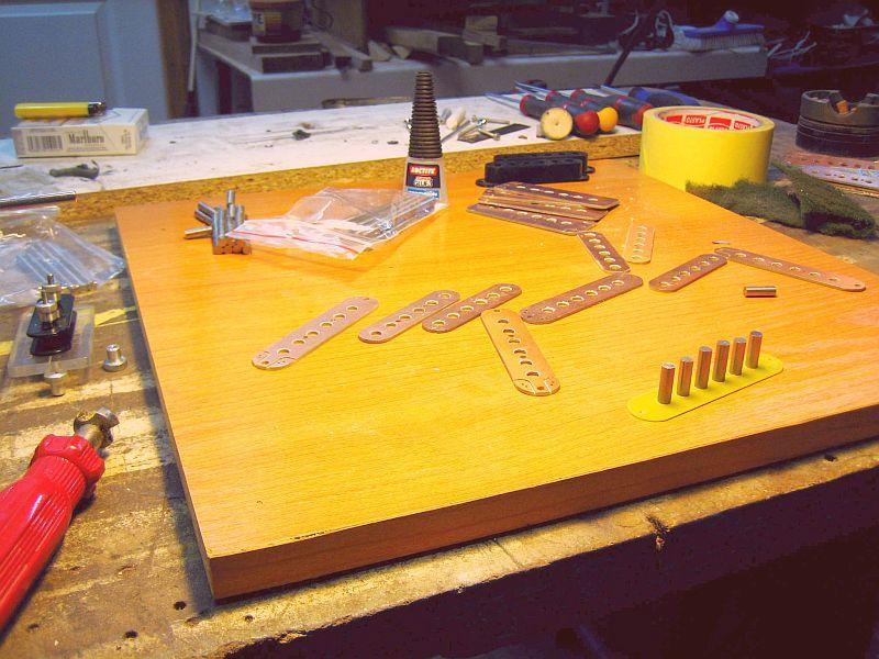 Fabrication d'une guitare Electrique : Terminée le 26/12/2014 - Page 3 005