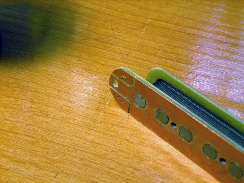 Fabrication d'une guitare Electrique : Terminée le 26/12/2014 - Page 3 012
