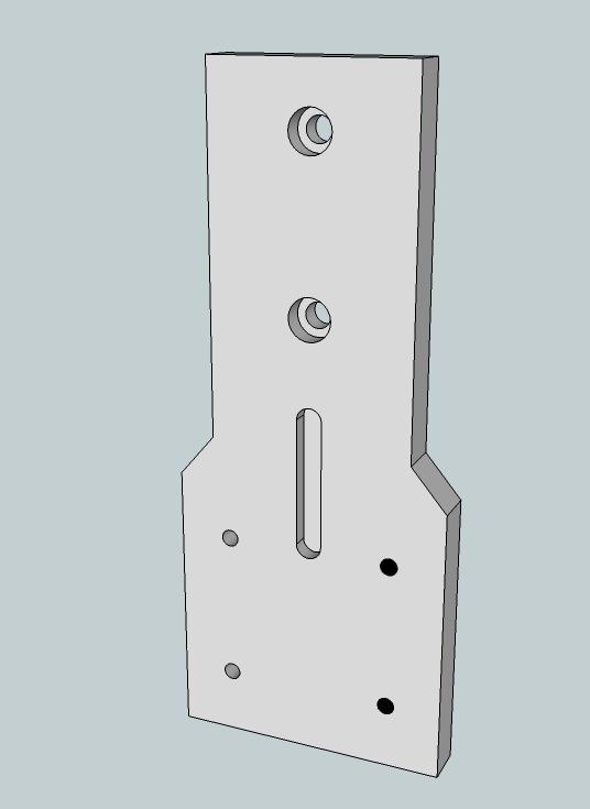 Découpes de stickers à la CNC (6040 inside) Plaque