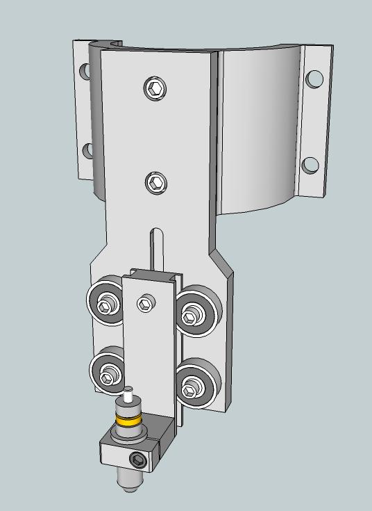 Découpes de stickers à la CNC (6040 inside) Support