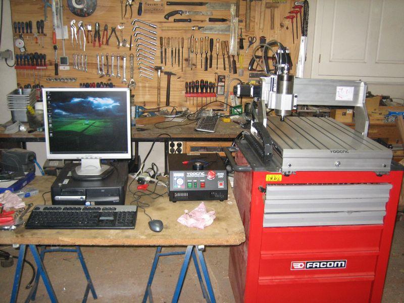 Une CNC de plus... La 6040 de Strib 010