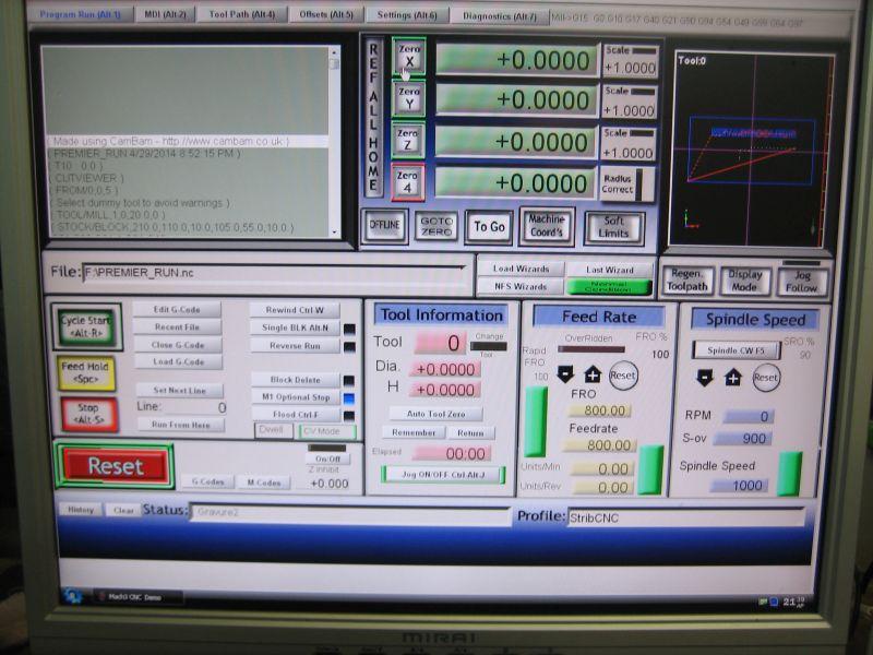Une CNC de plus... La 6040 de Strib 016