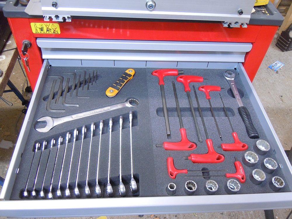 [CNC] Fabrication de mousses de calage d'outils pour servante (CNC 6040 數控銑床 ;) ) Final1