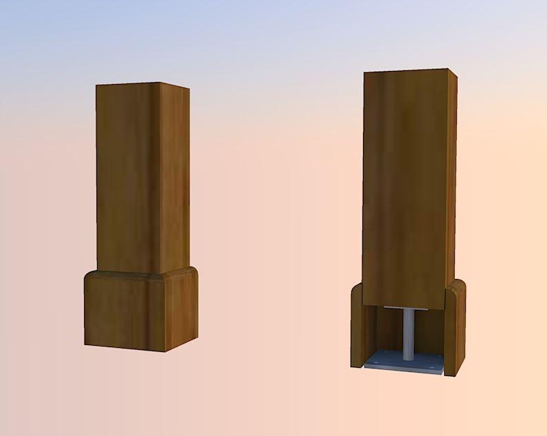 poutre verticale  Poteau1